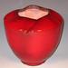2009 in Jingdezheb Ceramic Art Museum: Kamakura-Red Peony Vase