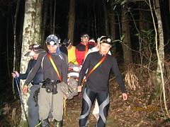孫嘉祥參與山難搜救。(圖片來源:林務局)