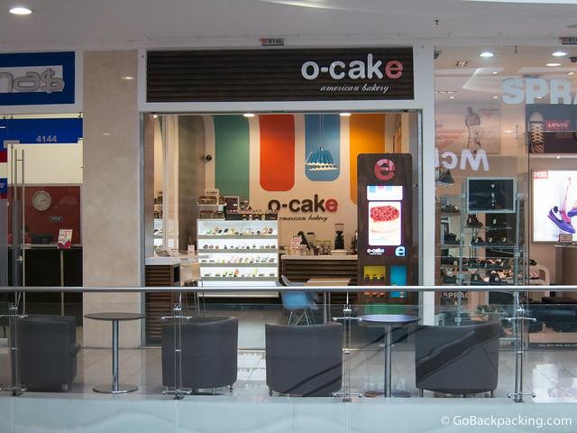 O-Cake at the Santa Fe mall