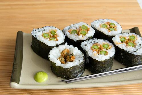 Crunchy Asparagus Rolls