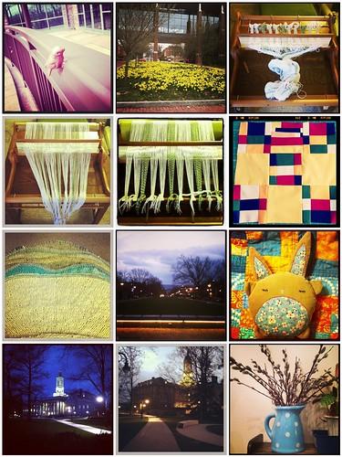 Spring stuff mosaic