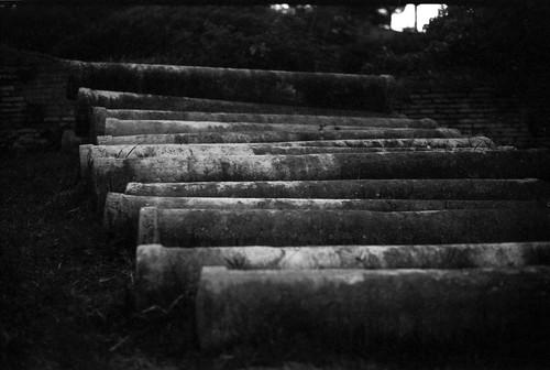 Columns - Ostia Antica