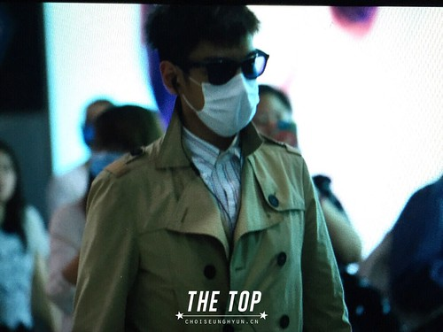 Big Bang - Beijing Airport - 05jun2015 - TOP - The TOP - 02