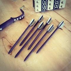 Tools of the Kirooki Eagle Hunter. #goldlife