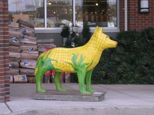 Kernel the Corn Dog (1st of 4 photos) by Coyoty