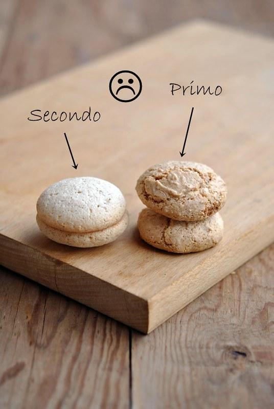 Macarons 1° e 2° tentativo