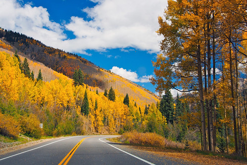 autumn trees sky mountains clouds forest landscape gold interestingness colorado bluesky foliage aspens rockymountains omd 1250mmf3563mzuiko