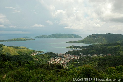 View from the ITT Tower of Romblon Island, Romblon Province, Philippines