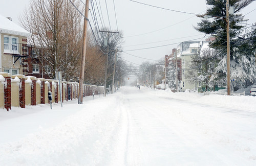 Blizzard, Beacon St, Somerville MA