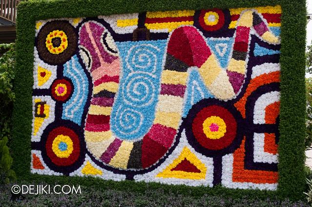 Sentosa Flowers 2013 - Flower Wall