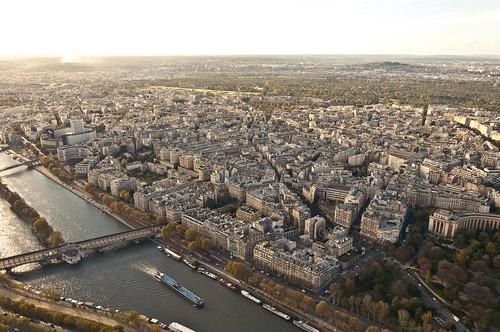 city paris seine skyscraper river landscape nikon eiffel d90