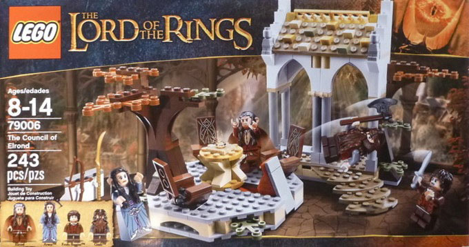 LEGO The Lord of the Rings 79006 The Council of Elrond