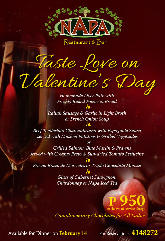 Valentine 's at Napa