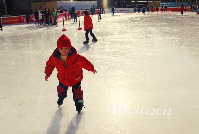 red skating