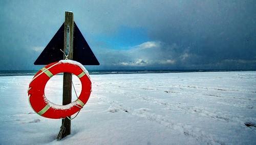 blue white snow beach water weather clouds denmark vinter sand pentax snowfall dänemark sne kx vesterhavet vejr nordjylland nordsøen vendsyssel pervisti