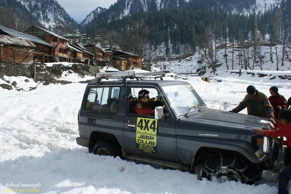 Muzaffarabad Jeep Club Neelum Snow Cross - 8470740525 7b424a5f61 b