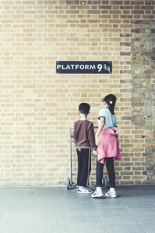 peron dziewięć i trzy czwarte