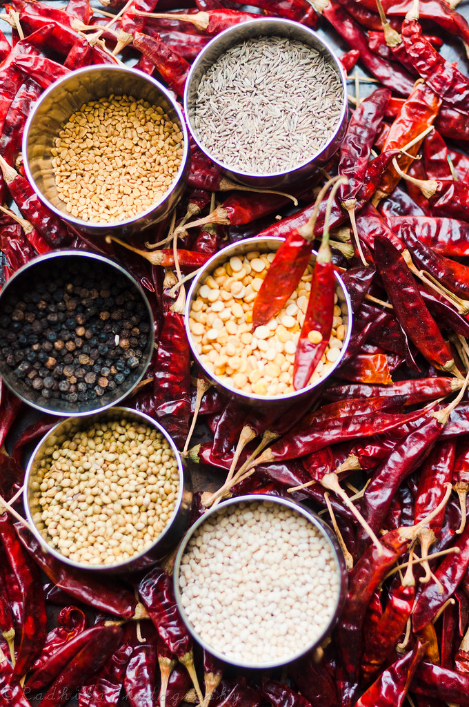 Spices for Tiffin Sambar Powder