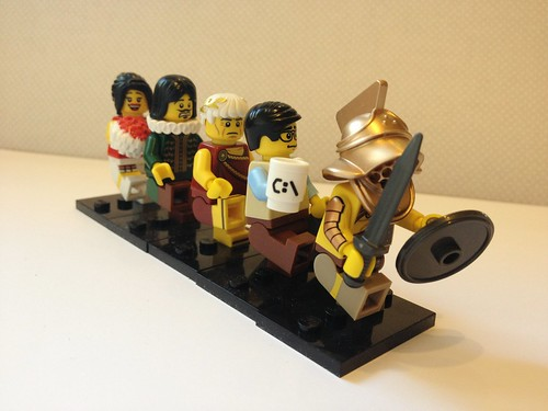 Lego folk love a good conga (46:365)