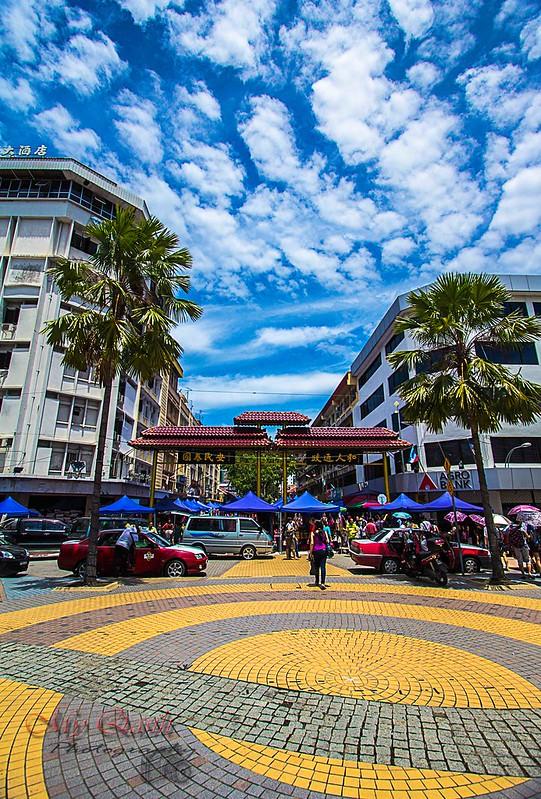 Gaya Street Sunday Market Kota Kinabalu..