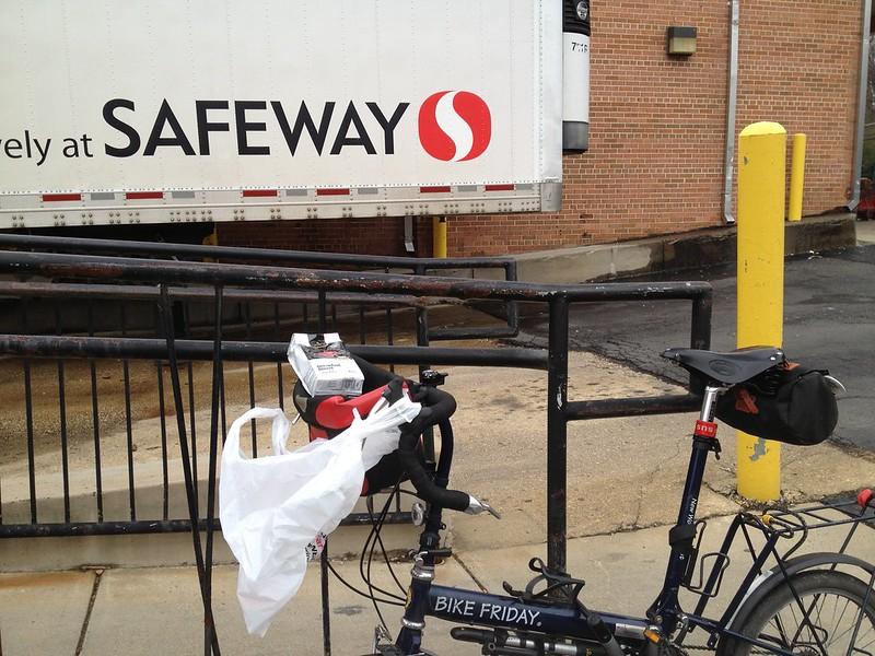 Errand 10: Little Nellie at the Safeway