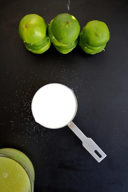 Lime Cordial, three ways.