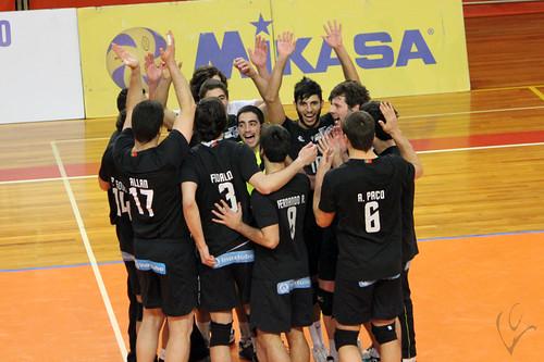 Voleibol: Vitória SC 3-1 Castêlo da Maia