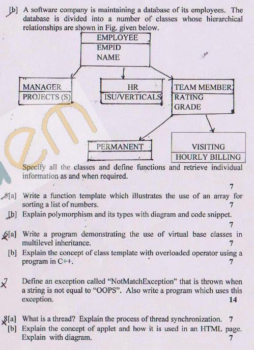 DTU Question Papers 2011 - 3 Semester - End Sem - COE-SE-201