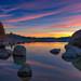 Tahoe Sunset by mojo2u