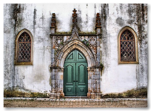 Portal do Mosteiro da Nossa Senhora da Conceição by VRfoto