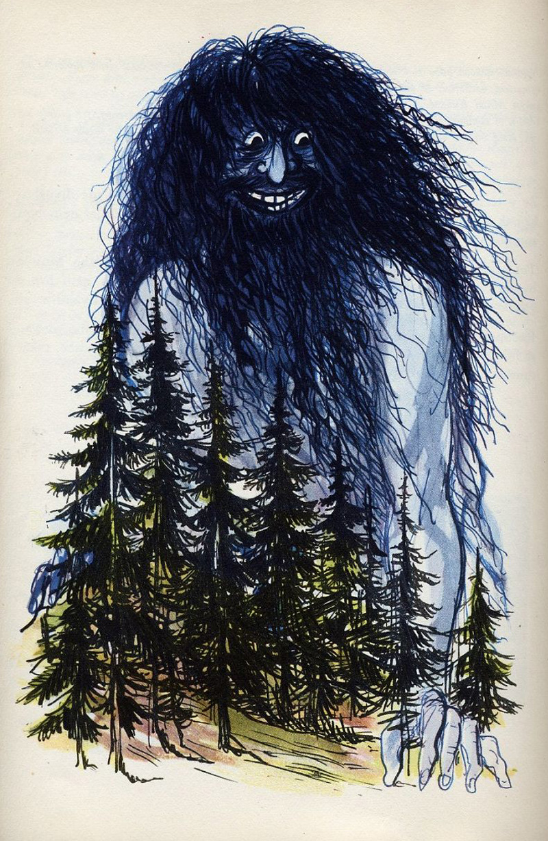 Miroslav Váša - Illustrations from The Bugaboos Or Little Natural History Of The Spooks, Ghosts And Phantoms, 1961 (18)