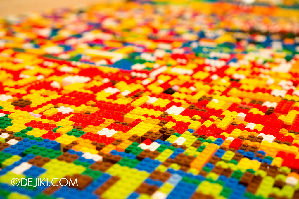 Art of The Brick - Carpet of Colours