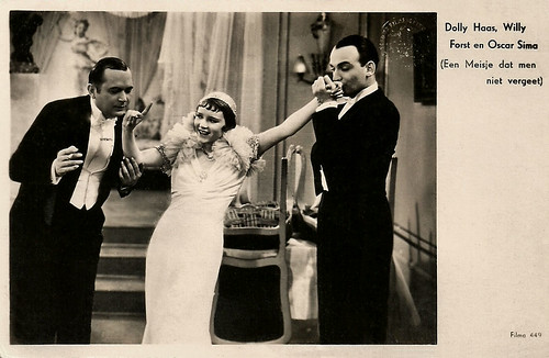 Dolly Haas, Willi Forst, Oscar Sima