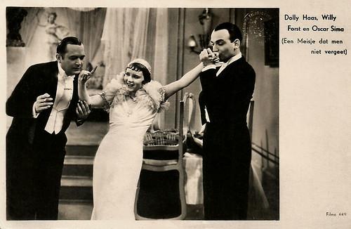 Dolly Haas, Willi Forst, Oscar Sima