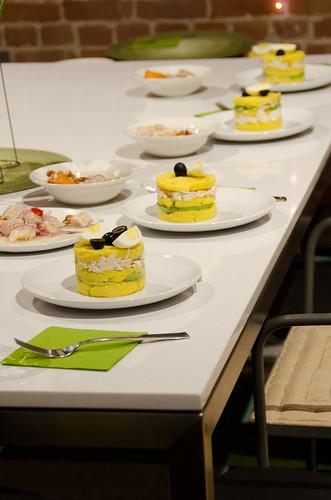 Peruvian Dinner - causa limena