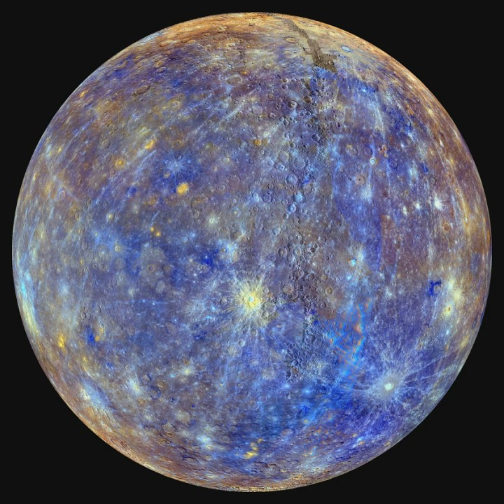 Watch Mercury Spin on its Axis [hd video]