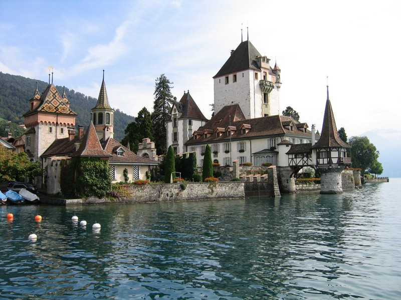 Oberhofen Castle Switzerland