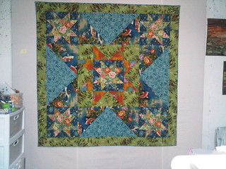Lauren A's 'Stars of the orient' for Project QUILTING