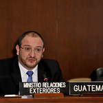 "Foreign Minister of Guatemala Proposes ""Alternative Strategies for Combating Drugs"" as the Central Theme of the 43rd OAS General Assembly"