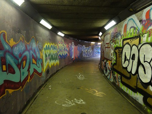 An Underpass in Belfast