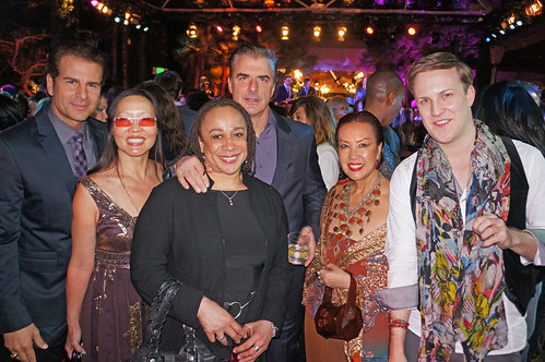 Vincent De Paul, Joyce Chow, S. Epatha Merkerson, Chris Noth, Sue Wong and Justin Howard