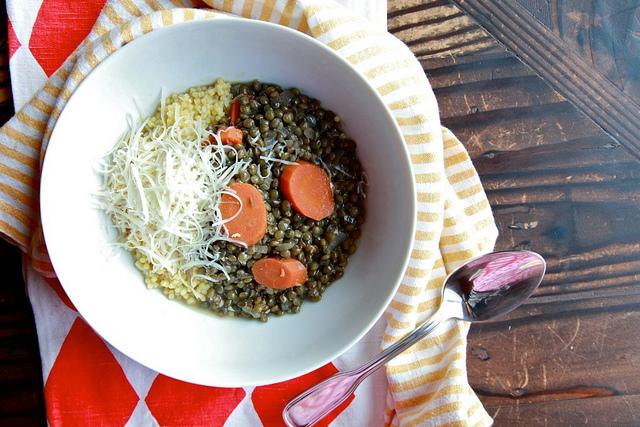 lentil and ginger soup