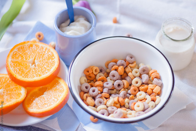 Breakfast - Yogurt and Cereal