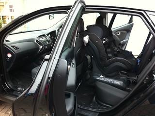 BeSafe Izi Combi X3 Isofix in a Hyundai IX35 61 plate