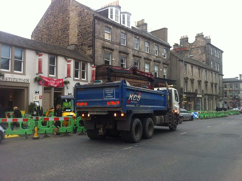 Constitution Street roadworks