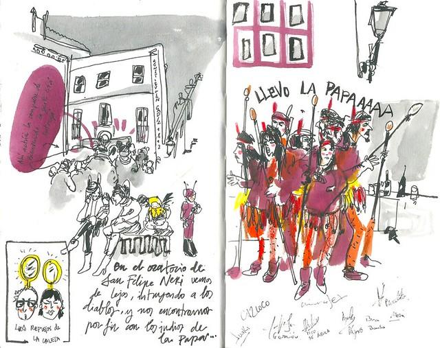 Carnaval de Cádiz. Los Indios.