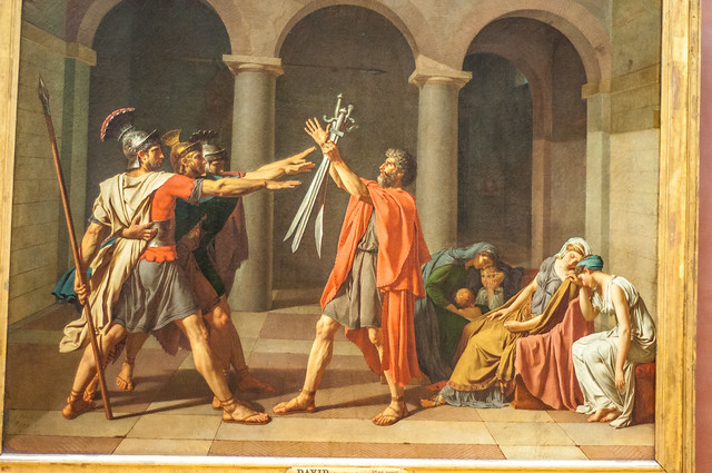 The oath of the Horatii - David