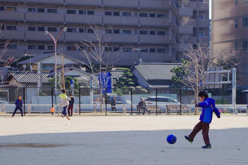 2月10號-福岡東領公園-足球&電車