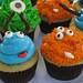 Vegan Monster Cupcakes by Blue Castle CupcakesVA