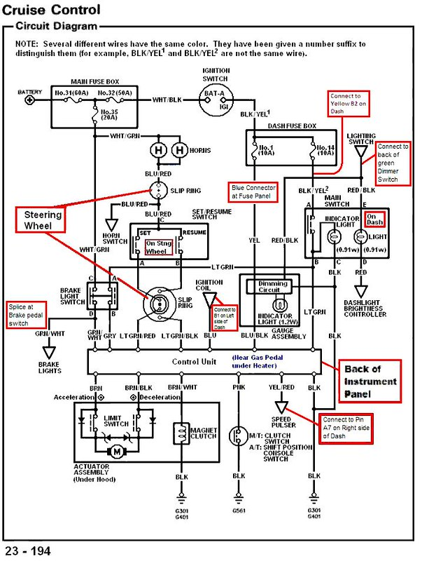 Wiring Diagram For 1988 Honda Crx Free Download - Basic Guide Wiring ...